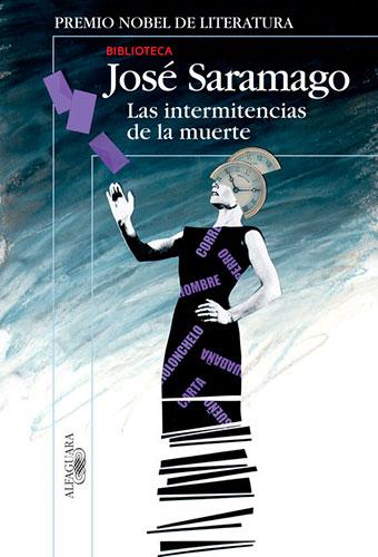 Portada de Las intermitencias de la muerte, de José Saramago
