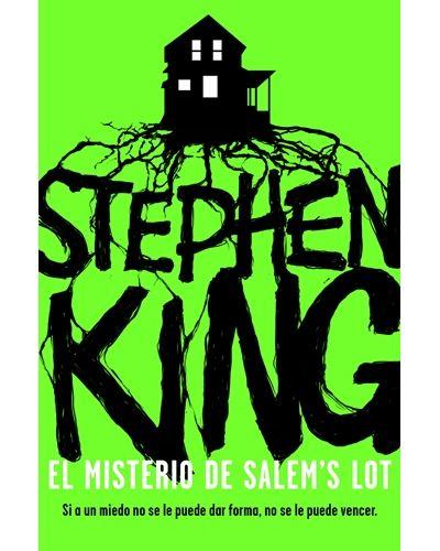 Portada nueva edición de El misterio de Salem's Lot