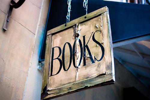 Cartel de libros